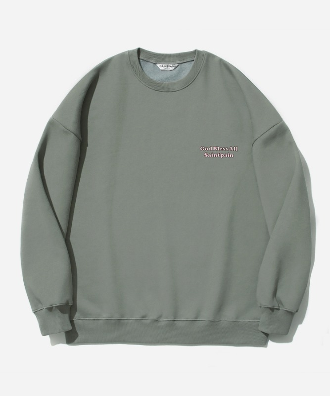 SP Our Lady Crew Neck-Khaki
