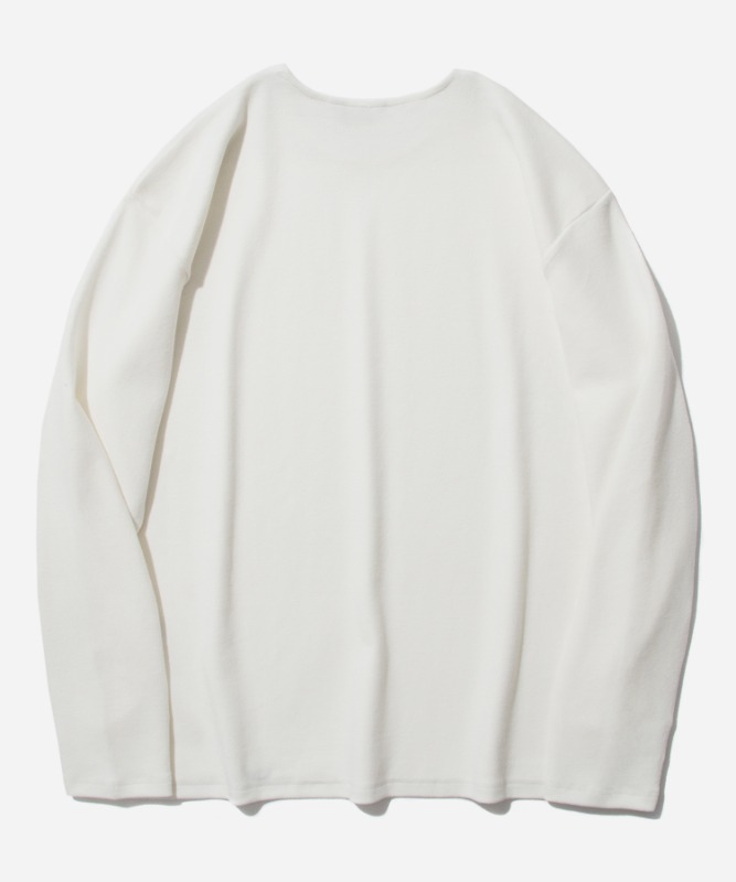 SP Over Fit Long Sleeve-White