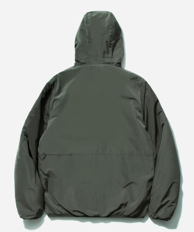 SP Reversible Boa Hood Jacket-Black
