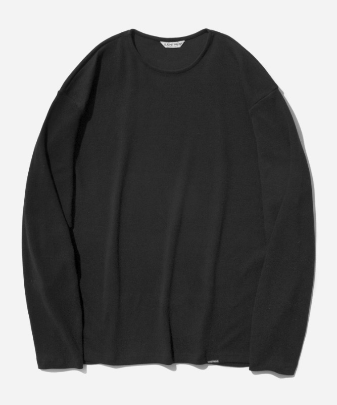 SP Over Fit Long Sleeve-Black