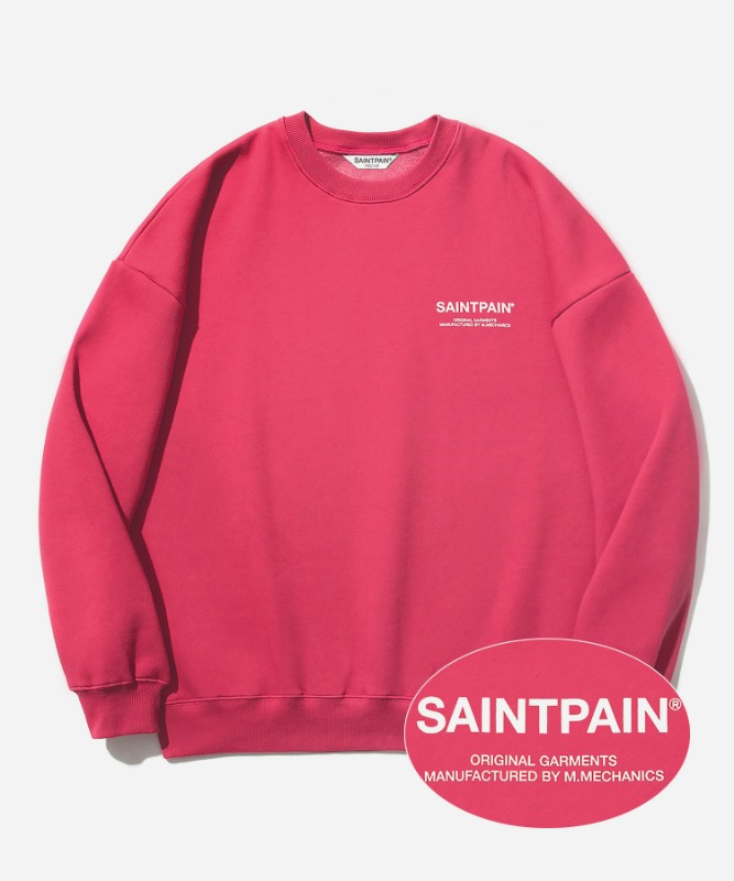 SP Variation Logo Crew Neck-Red
