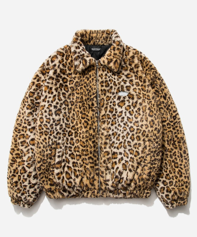 SP Gotha Fur Jacket-Leopard